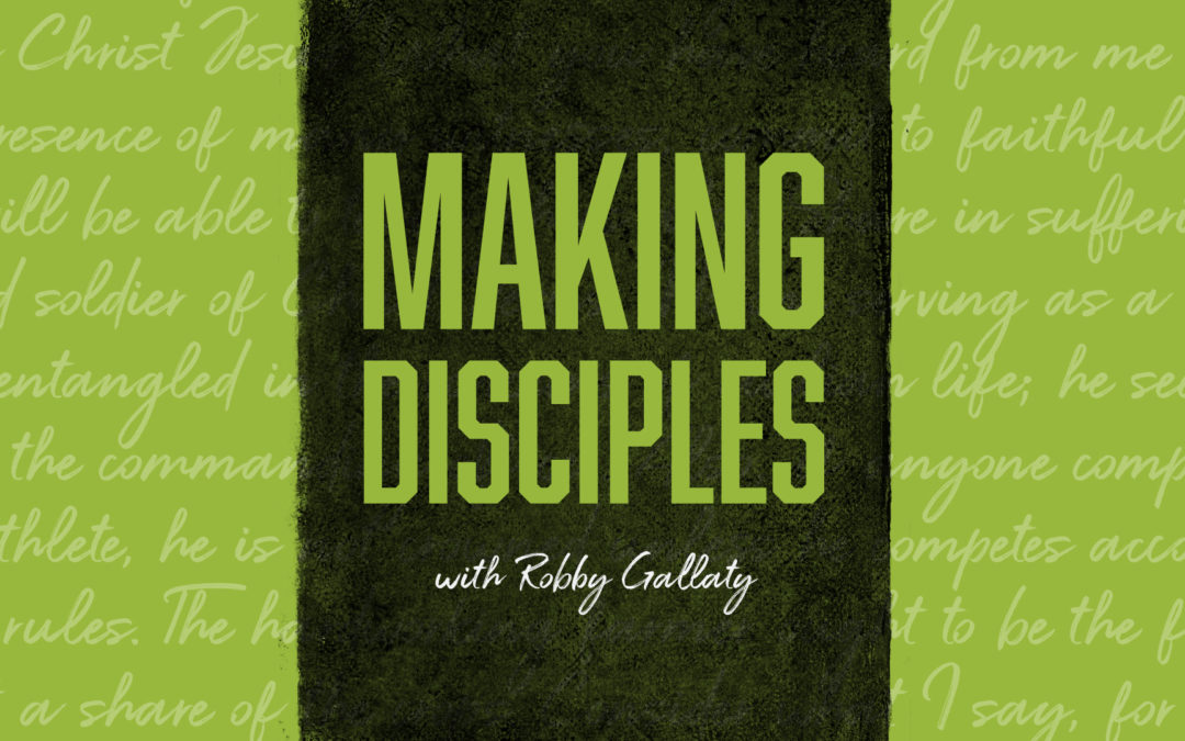 #105 The Problem with Creating a Disciplemaking Culture